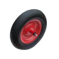 """Ruota 14""""x3.50-8 diam. 360 mm con perno M12X210"""